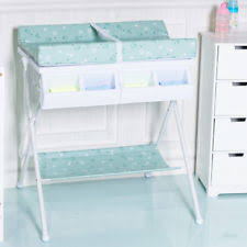 Baby Changing Table With Bath Tub Baby Changing Unit Pine Plastic Baby Units Ebay