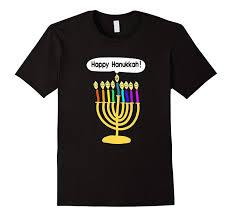 hanukkah t shirts happy hanukkah smiley menorah t shirt chanukkah