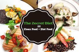 cuisine diet the zecret diet clean food diet food