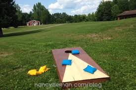 how to make replacement bags or bean bag toss bags