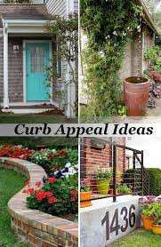 Ideas For Curb Appeal - curb appeal home design inspiration home decoration collection