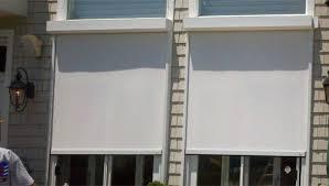 Patio Wind Screens by Nashville Patio Shades Retractable U0026 Motorized