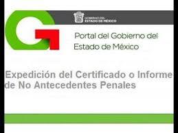 formato de pago del estado de mexico 2015 sacar antecedentes no penales edo mex youtube