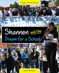 shannen and the dream for a u2014 second story press