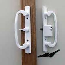 Keyed Patio Door Handle Locking Handles For Glass Sliding Door Patio Door Handleset