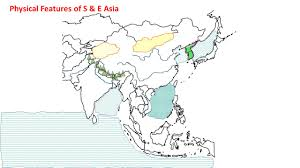 East Asia Blank Map by Ss7g9 The Student Will Locate Selected Features In Southern And