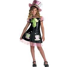 girls mad hatter child fancy dress book week costume alice in