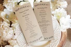 wedding programs trifold wedding program brochure templates on funeral brochure template tri