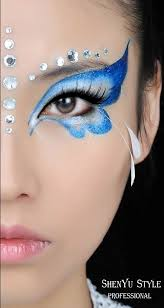 21 creepy and cool halloween face painting ideas butterfly face