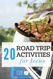 Map Your Road Trip 20 Road Trip Activities For Teens Teensgotcents