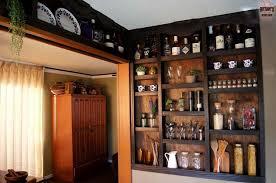 Ideas For Shelves In Kitchen Built In Kitchen Wall Shelves Hometalk