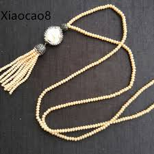 handmade long necklace images Handmade long necklaces pendants fashion woman tassels necklace jpg