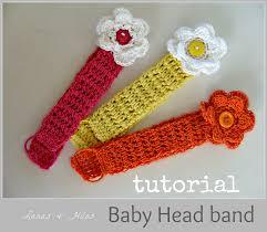 crochet bands lanas de baby bands tutorial