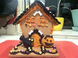Halloween Haunted House Cake Make A Haunted Gingerbread House