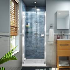 34 Shower Door Dreamline Dl 6625 Enigma Z 30 D X 60 W X 78 3 4 H Fully Frameless