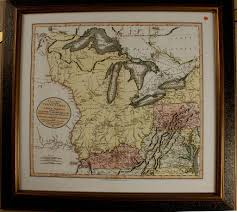 New Map Of The United States by 1811 John Cary