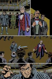 comic book color doctor who the third doctor issue 5 color sample titan comics