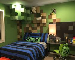 chambre gamer daf w h b p eclectique chambre d enfant for black wall mindcraft