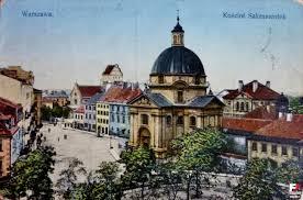 pre war warsaw warsaw postcard varsovie pologne poland