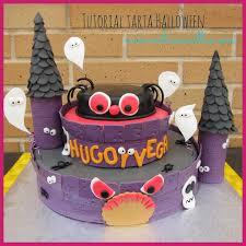 Halloween Cake Tutorial Halloween Cake Primera Parte Castillo Halloween Youtube