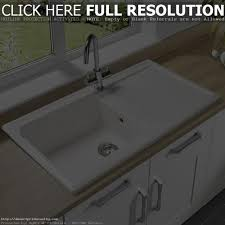 Porcelain Kitchen Sinks by 100 Porcelain Kitchen Sink Cream Gray Porcelain Undermount