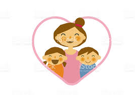 mothers day stickers mothers day sticker parent child stickers clip of and