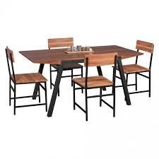 Dunkler Esszimmertisch Wohnling Esszimmertisch Berry 160 X 76 X 80 Cm Mdf Holz Esstisch