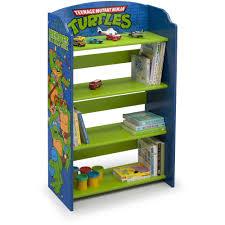 Bookshelf Books Child And Story Books Delta Children Nickelodeon Mutant Turtles Bookshelf