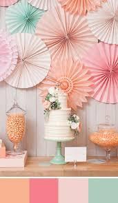 5 peach color palettes for your wedding day pastel palette