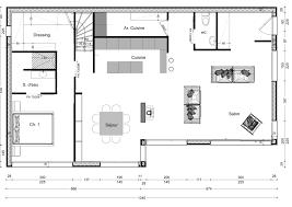 Plan De Maison En Longueur Faire 1 Plan De Maison
