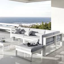 canape d exterieur design canapé d extérieur modulable fuse manutti saisons unique pour canapé