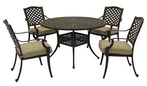 Cast Aluminum Patio Table And Chairs by 101 Patio Furniture