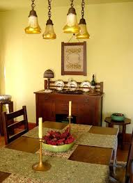 Arts And Crafts Dining Room Arts And Crafts Dining Room Lighting