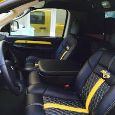 Dodge Ram 750 - dodge ram yellow and black interior seats diamond stitch auto