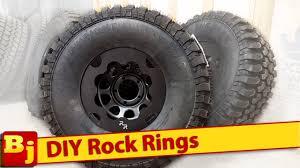 black rock rings images Make your own rock rings or beadlocks jpg