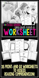Reading Comprehension 7th Grade Worksheets 93 Best My Store Musings From The Middle On Tpt Images On