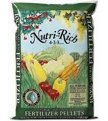 organic fertilizer pellets by nutri rich 50lb planet natural