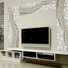 mirror stickers wall collection decor ideas hot