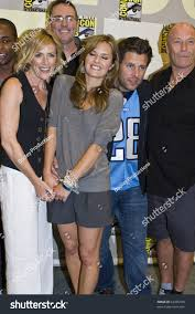 james roday and maggie lawson 2015 san diego july 22 james roday stock photo royalty free 63335188