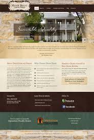 website design branding for a custom home builder andrea garza website design branding for a custom home builder