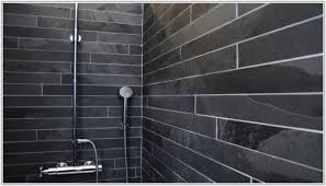 Black Slate Bathrooms Black Slate Effect Bathroom Tiles Brightpulse Us