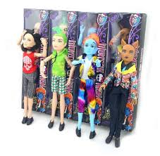 monster fashion boy dolls clawdeen wolf deuce gorgon jekyll