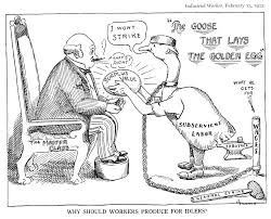 industrial revolution political cartoon analysis lessons tes teach