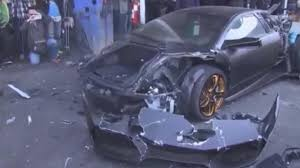 lamborghini reventon crash lamborghini murcielago destroyed due to fake number plates daily