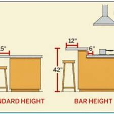 standard kitchen island dimensions pictures of kitchen island height for glamorous standard 22 on
