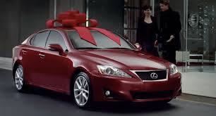 lexus car commercial question of the day did anyone really get a car for