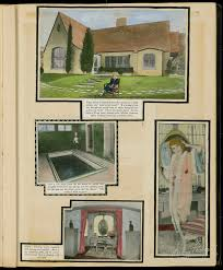 hand colored fan scrapbook from 1925 26 mary pickford foundation