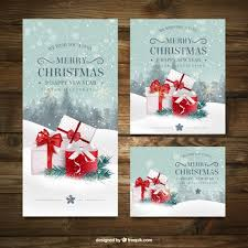 christmas card vectors photos and psd files free download in