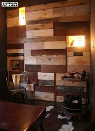 wood slat wall the light placement basement remodel