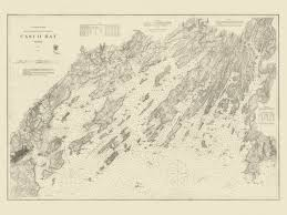 old maps and charts sea heritage